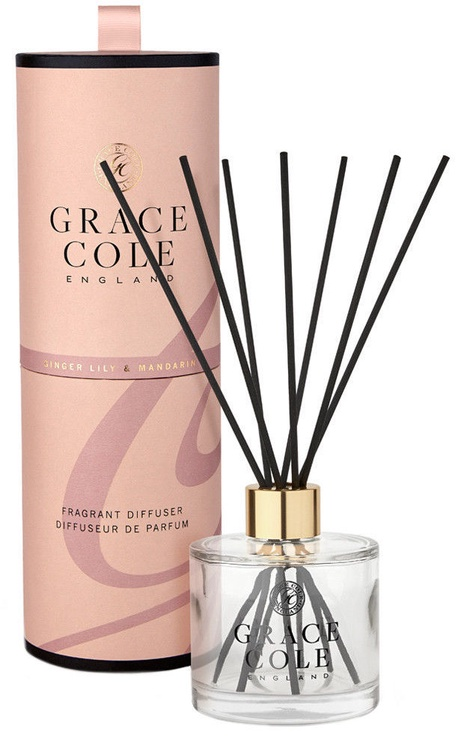 Grace Cole Reed Fragrant Diffuser 200ml Ginger Lily & Mandarin