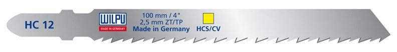 Figūrzāģa asmeņi Wilpu HC 12, 2gab.