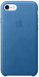 Apple Leather Back Case For Apple iPhone 7 Sea Blue