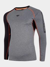 Футболка с длинными рукавами 4F Men's Training Long Sleeve Top Grey M H4L20-TSMLF001-24M