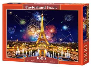 Puzle Castorland Glamour Of The Nigth Paris, 1000 gab.