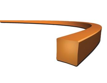 Pjovimo lynas Makita, kvadratinis, 2.4 mm, 69 m