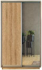 Garant-NV Wardrobe w/ 2 Sliding Doors 180x240x60cm Santana Oak