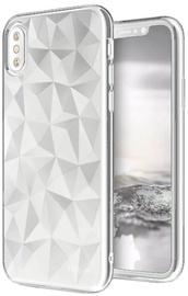 Blun 3D Prism Shape Back Case For Samsung Galaxy J7 J730 White