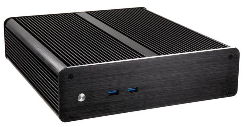 Akasa Euler M Fanless Mini-ITX Case Black