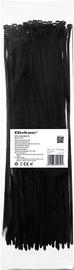 Qoltec Zippers Nylon UV 4.8x350mm 100pcs. Black