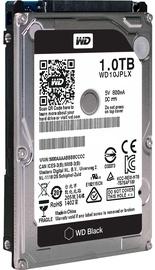 Išorinis kietasis diskas Western Digital Black 1TB 7200RPM 32MB SATA3 Bulk WD10JPLX