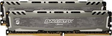 Crucial Ballistix Sport LT Gray 16GB 3200MHz CL16 DDR4 KIT OF 2 BLS2K8G4D32AESBK