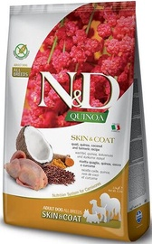 Farmina N&D Quinoa Skin & Coat Quail Chicken Adult 2.5kg