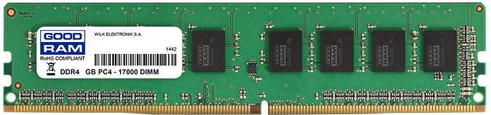 Goodram 8GB 2133MHz CL15 DDR4 GR2133D464L15/8G