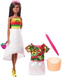 Mattel Barbie Crayola Rainbow Fruit Surprise Doll & Fashions GBK19