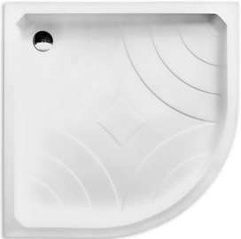 Roth Hawaii P Shower Bath 900x900mm White