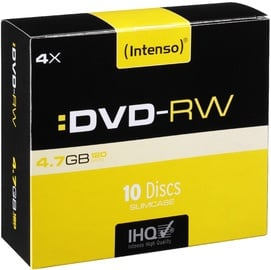 Intenso DVD-RW 4x 4.7GB 10pcs. Slim Case 4201632