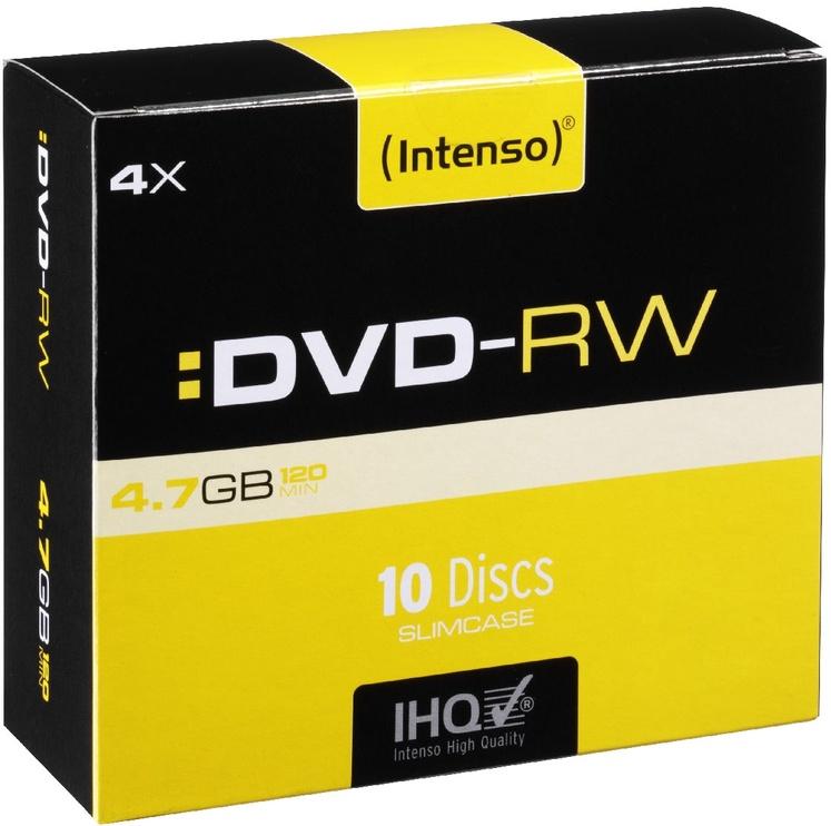 Intenso DVD-RW 4x 4.7GB 10pcs. Slim Case 4201632