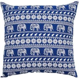 Home4you Cushion Funny 45x45cm Blue