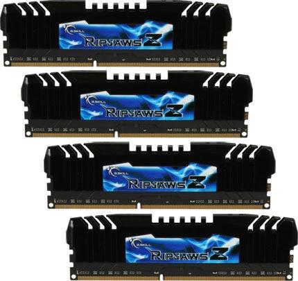 G.SKILL RipjawsZ 32GB 2133MHz DDR3 CL9 DIMM KIT OF 4 F3-2133C9Q-32GZH