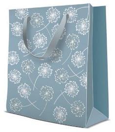 Paw Decor Collection Gift Bag Puff Balls Premium 20x10x25cm
