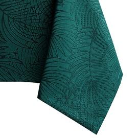 Скатерть AmeliaHome Gaia, зеленый, 1400 мм x 3400 мм
