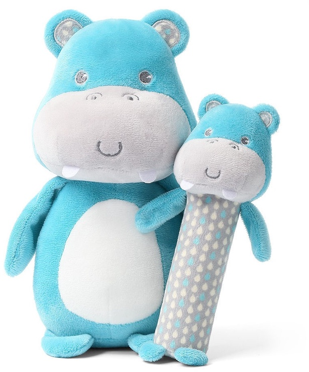 BabyOno Squeaky Toy Hippo Marcel