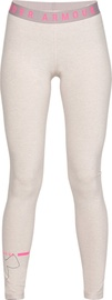 Under Armour Womens Favourite Big Logo Leggings 1342638-015 Grey/Pink M