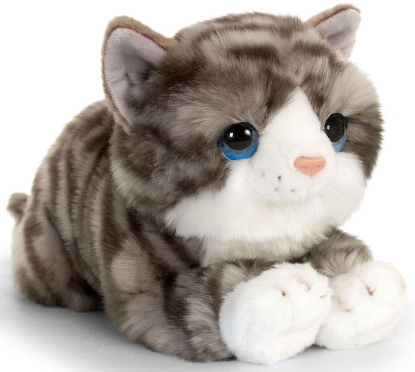 Pliušinis žaislas Keel Toys Cuddle Kitten Gray, 32 cm
