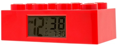 ClicTime LEGO Brick Alarm Clock Red