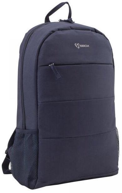 "Sbox Toronto Notebook Backpack 15.6"" Blue"