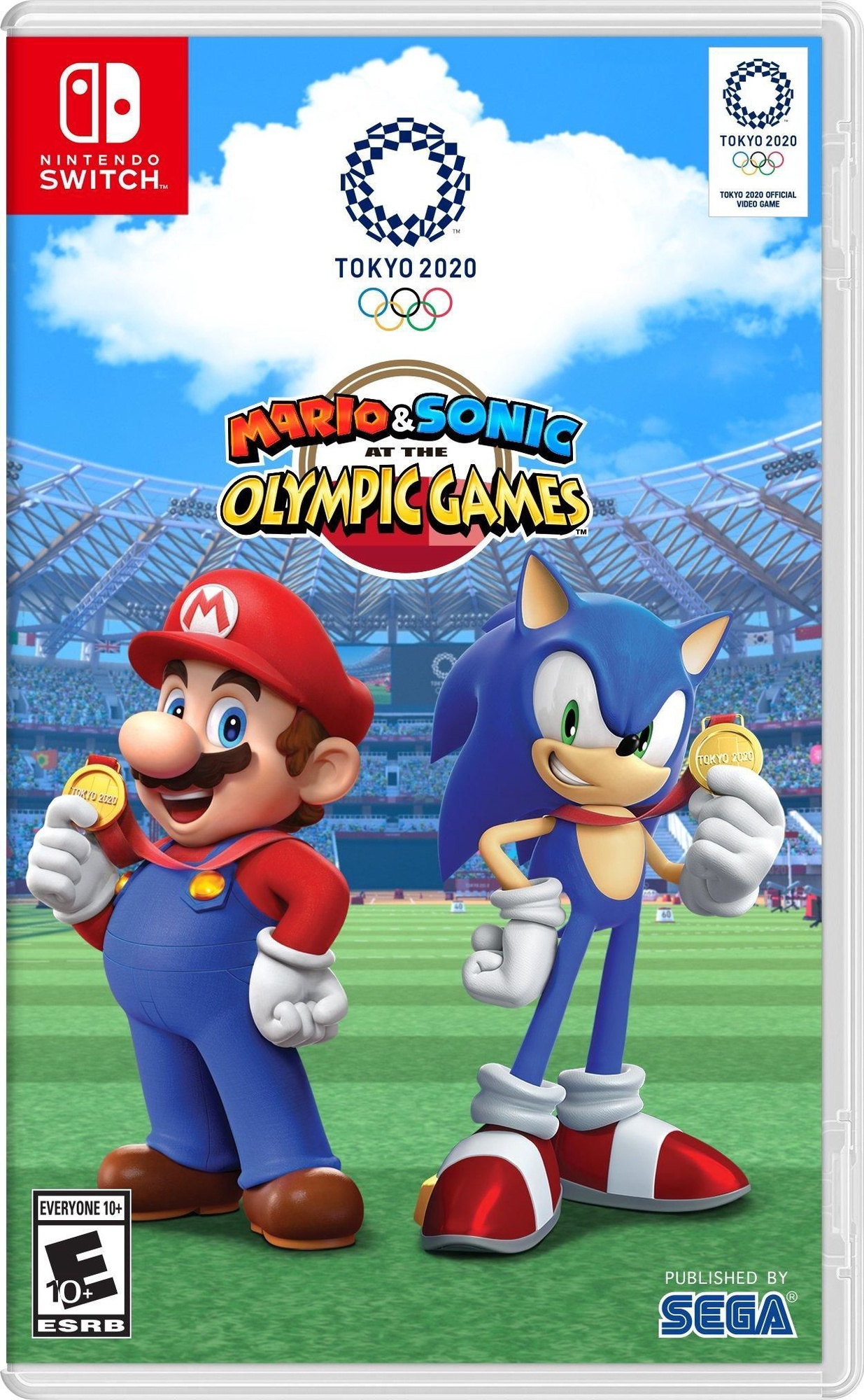 Nintendo Switch Upcoming Games 2020.Mario Sonic At The Olympic Games Tokyo 2020 Switch