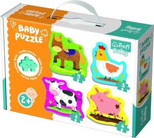 Puzle Trefl Baby Baby Farm Animals 36070, 18 gab.