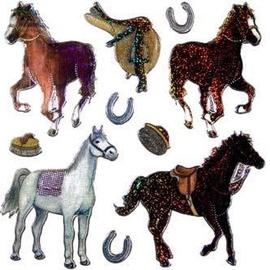 Herlitz Stickers Glitter Horses
