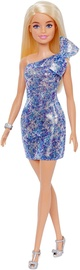 Mattel Barbie Glitz Outfits Blonde With Blue Dress Doll GRB32