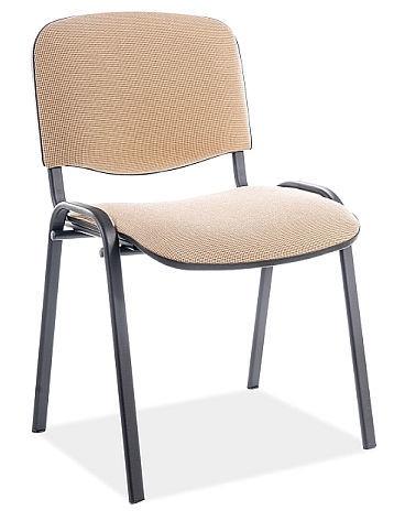 Apmeklētāju krēsls Signal Meble Iso Beige