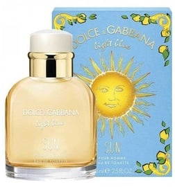 Tualetes ūdens Dolce & Gabbana Light Blue Sun Pour Homme, 75 ml EDT