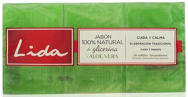 Lida Soap 3x125g Aloe Vera