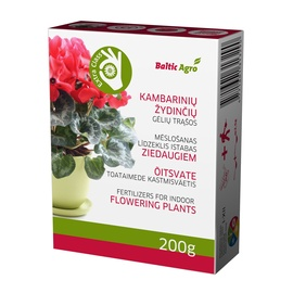 Trąšos žydinčioms gėlėms Baltic Agro, 0.2 kg
