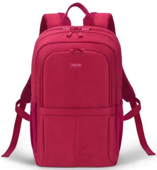 """Dicota Eco Backpack Scale 13 - 15.6"""" Red"""