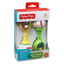 Погремушка Fisher Price Rattle & Rock Maracas BLT33