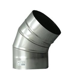 Kaminų alkūnė Wadex 115180000, Ø 180 mm x 45°