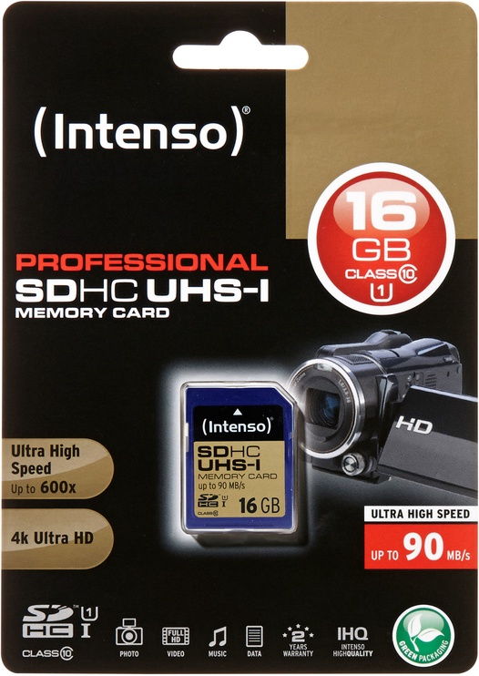 Intenso Professional 16GB SDHC 3431470