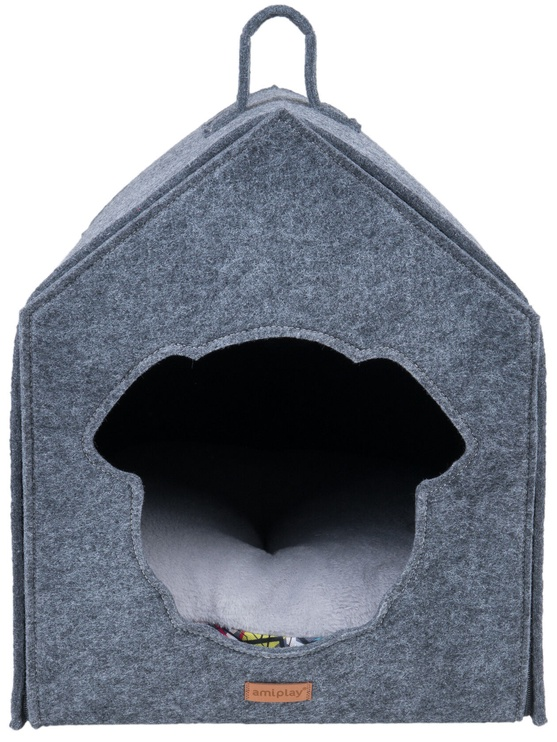 Amiplay Hygge Dog House Gray 33x42cm