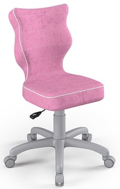 Детский стул Entelo Petit Size 3 VS08, розовый/серый, 300 мм x 775 мм