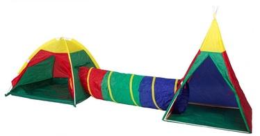 Žaidimų palapinė EcoToys Tent With Tunnel 3in1 8703