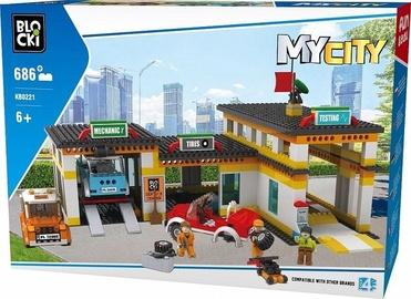 Blocki MyCity Service Station 686pcs KB0221