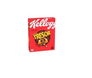 Dribsniai KELLOGG'S Tresor Choco nut 375g