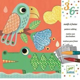 Djeco Pattern Rubbing Patterns To Rub Magalis Friends Creative Set