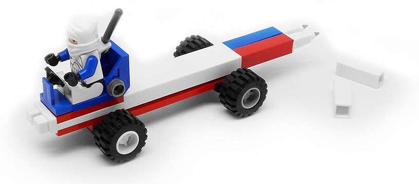 LEGO Gel Pen Set 2pcs Blue 51503