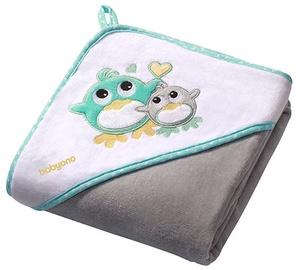 BabyOno Velour Hooded Towel 100x100cm 138/05 Grey