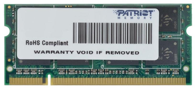 Patriot 8GB 1600MHz DDR3 CL11 Ultrabook SODIMM PSD38G1600L2S