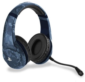 4Gamers PRO4-70 Gaming Headset Blue Camo