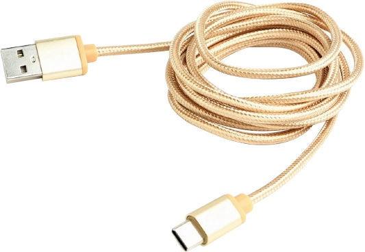 Cablexpert USB 2.0 to USB-C CCB-mUSB2B-AMCM-6 Gold